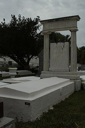 Reginald Fessenden - Gravesite in St. Mark's church cemetery in Bermuda