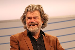 Reinhold Messner Italian mountaineer, adventurer and explorer