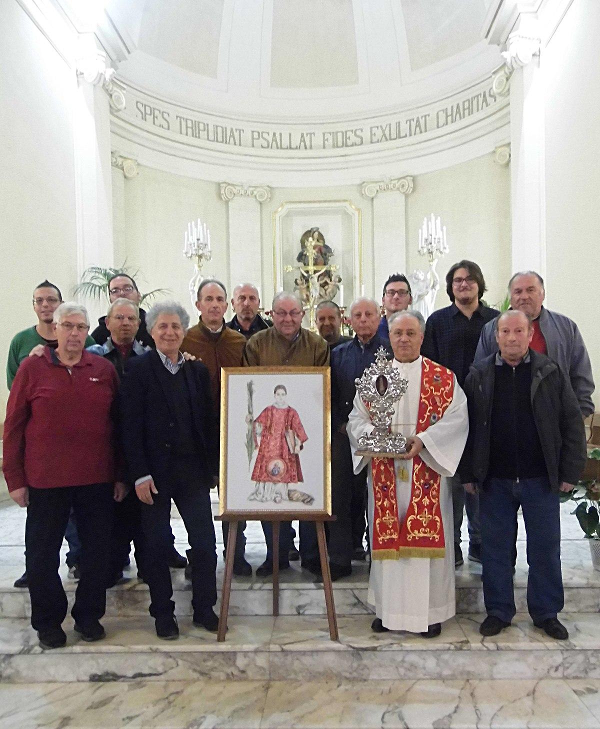 File reliquia san cesario diacono e martire san cesario for Albanese arredamenti san cesario lecce