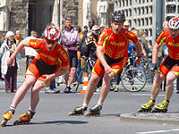 Inline-Speedskating Teamzeitlauf, Berlin 2005