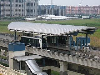 Renjong LRT station LRT station in Singapore