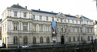 University of Rennes 2 - Former Palais Universitaire of the University of Rennes, currently Municipal Museum of Fine Arts