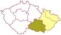 Poloha brněnské diecéze v rámci moravské církevní provincie