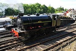 Repulse at Haverthwaite railway station (6583).jpg