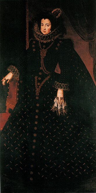 Elisabeth of France (1602–1644) - Image: Retrato de Isabel de Borbón, by studio of Diego Velázquez