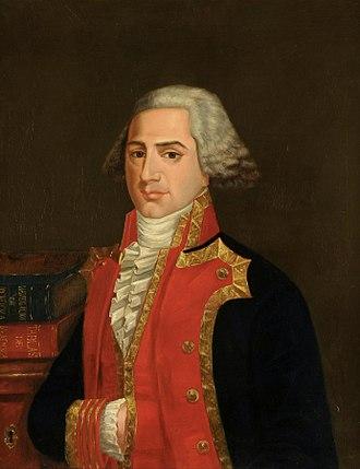 Josef de Mendoza y Ríos - Portrait of Mendoza y Ríos.