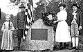 Rev. John Williams memorial dedication 1912 Rockingham VT.jpg