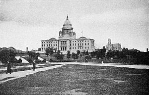 Rhode Island State House - State House, 1917