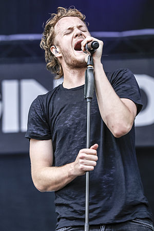 Dan Reynolds (singer) - Reynolds performing in 2013