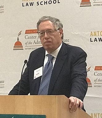 Richard Epstein - Epstein at George Mason University Scalia Law School in 2018