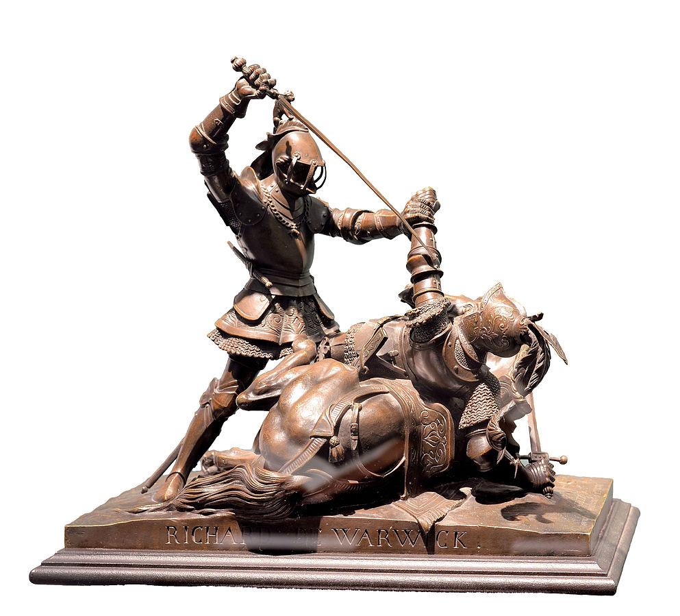 Richard de Warwick combattant