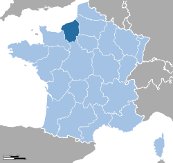 Rimex-France location Upper Normandy.svg