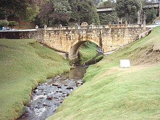 Puente de Boyacá - Teatinos river