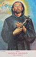 Riproduzione quadro di San Nicola Saggio da Longobardi esposto a Campora San Giovanni.JPG