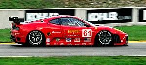 Risi Competizione - A Ferrari F430 GT2 campaigned by Risi Competizione in the 2007 American Le Mans Series season.