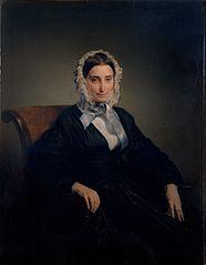 Portrait de Teresa Manzoni Stampa Borri