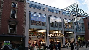 River Island - A branch in Leeds, West Yorkshire.