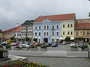 Rožňava - Town center