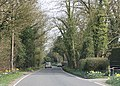 Road through Fretherne Wood - geograph.org.uk - 1802622.jpg