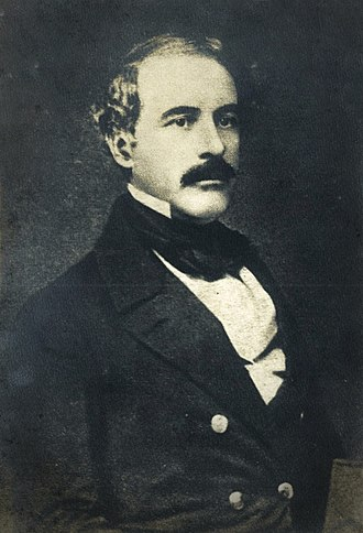Robert E. Lee - Robert E. Lee around age 43, when he was a brevet lieutenant-colonel of engineers, c. 1850