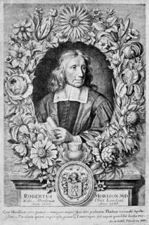 Robert Morison British botanist