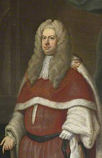 Robert Raymond, 1st Baron Raymond British politician