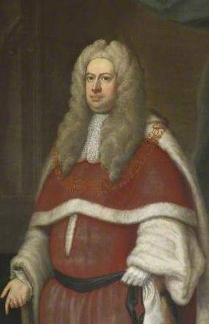 Robert Raymond, 1st Baron Raymond - Lord Raymond
