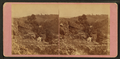 Rock formations with some people working, by Root, Samuel, 1819-1889.png