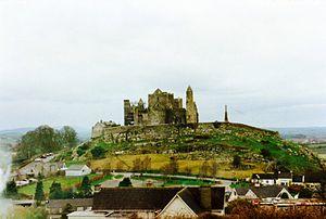 Vue générale du Rock of Cashel