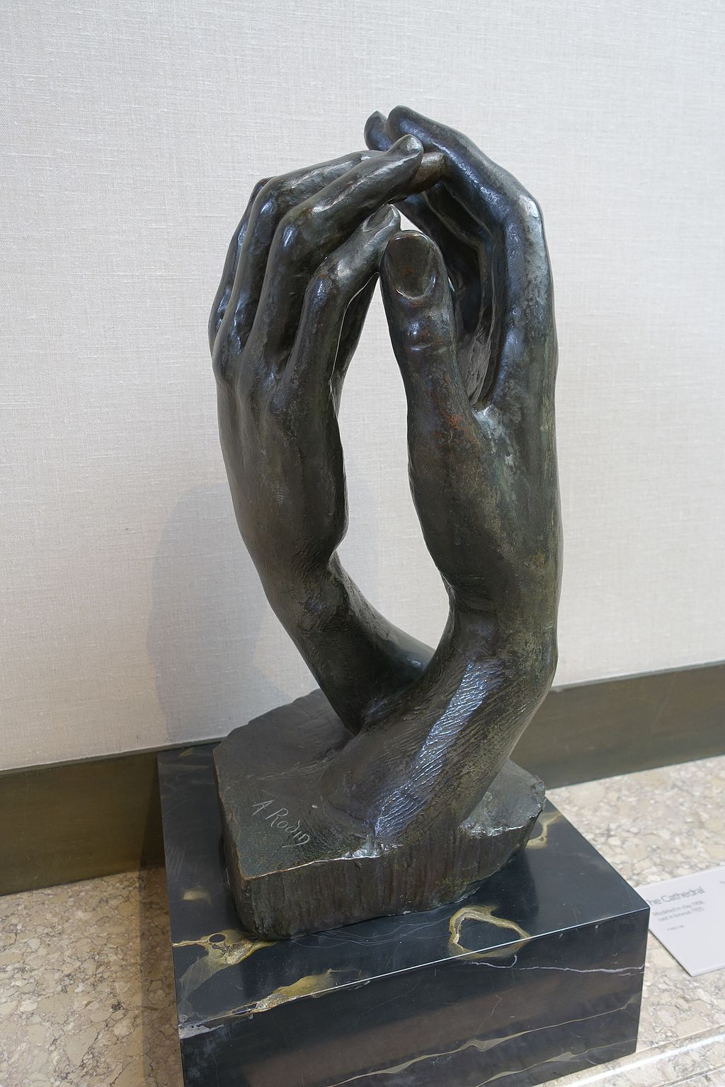 """""""The Cathedral"""" by Auguste Rodin"""