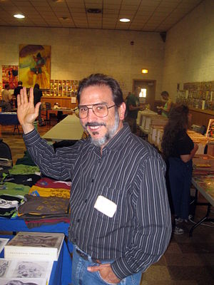 Roger Stern - Stern photographed at Ithacon 35, Part II in 2010