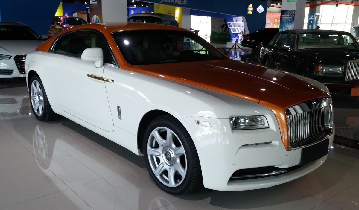 Rolls Royce Wraith 2013 Wikipedia