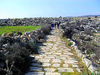 Roman road in Cilicia Ancient Roman road in Turkey