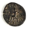 Romerskt bronsmynt med gudinnan Salus, 235-238 - Skoklosters slott - 110676.tif