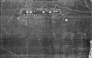 Romorantin - Pruniers Air Detachment - Air Service Production Center No. 2 site map, 1918