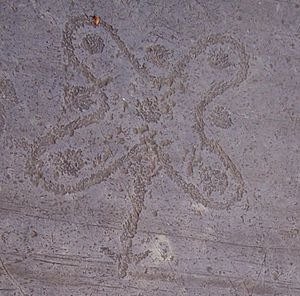 Rock Drawings in Valcamonica - The Camunian rose