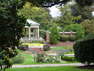 Beverly, Massachusetts - Rose Garden at Lynch Park