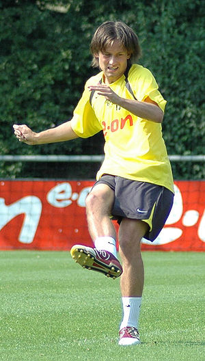 Czech Footballer of the Year - Tomáš Rosický won the award three times in his career.