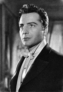 Rossano Brazzi Italian actor and singer