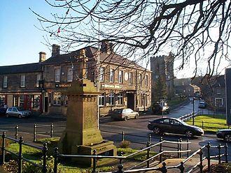 Rothbury - Image: Rothburycentre 2