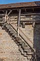 Rothenburg ob der Tauber, Stadtbefestigung, Treppe am Henkersturm-20160108-001.jpg