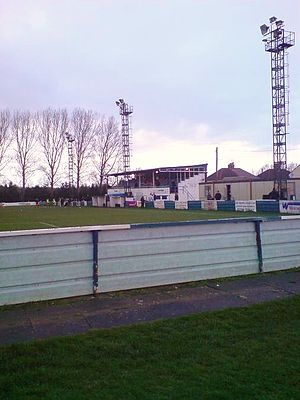 Rothwell Town F.C. - The club's home stadium