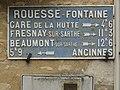 Rouessé-Fontaine (Sarthe) plaque de cocher.jpg