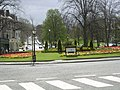 Roundabout near the Valley Gardens, Harrogate - geograph.org.uk - 626886.jpg