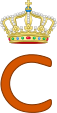 Royal Monogram of Prince Claus of the Netherlands.svg