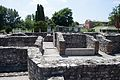 Ruins of Aquincum, in the background the main exhibition building.jpg