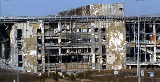 Second Battle of Donetsk Airport - Image: Ruins of Donetsk International Airport (5)