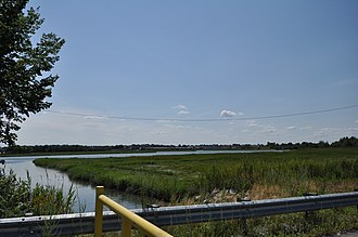 Rumney Marsh Reservation - The Pines River and surrounding marshland