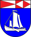 Coat of arms of Rusnė