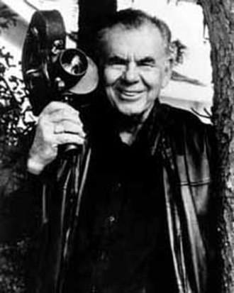 Russ Meyer - Meyer in 1996 (photo by Roger Ebert)